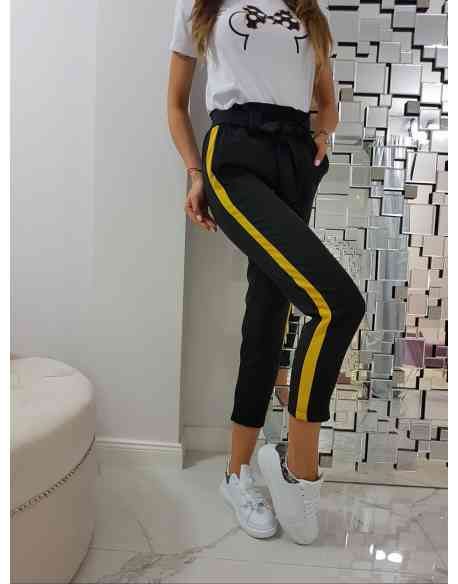 """Spodnie """"Yellow Stripe"""""""